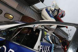 Third place Ashley Sutton, Team BMR Subaru Levorg