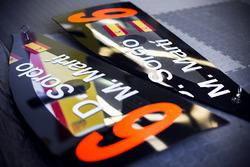 Détail de la voiture de Dani Sordo, Marc Marti, Hyundai i20 WRC, Hyundai Motorsport