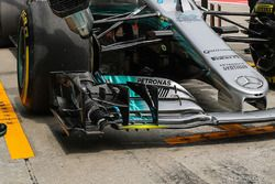 Mercedes F1 W08 front wing