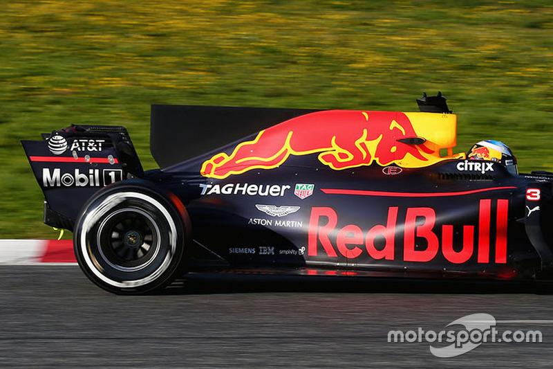 2017: Daniel Ricciardo, Red Bull Racing RB13