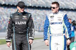 Michael McDowell, Leavine Family Racing Chevrolet, Ty Dillon, Germain Racing Chevrolet