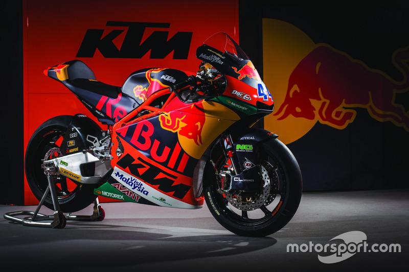 La moto di Miguel Oliveira, Red Bull KTM Ajo