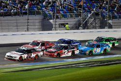 Brad Keselowski, Team Penske Ford and Austin Dillon, Richard Childress Racing Chevrolet