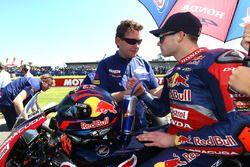Ronald Ten Kate et Stefan Bradl, Honda World Superbike Team