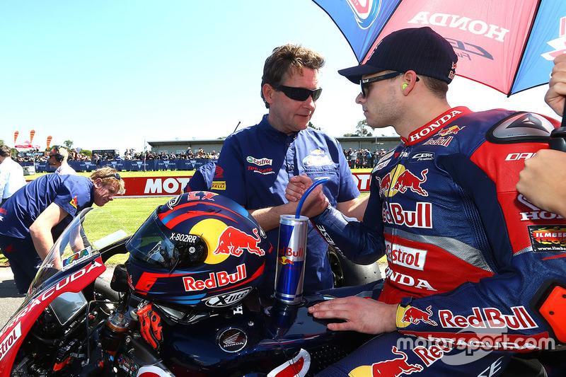Stefan Bradl, Honda World Superbike Team with Ronald Ten Kate