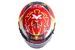 Helmet of Max Verstappen, Red Bull Racing
