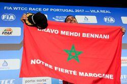 Podyum: Mehdi Bennani, Sébastien Loeb Racing, Citroën C-Elysée WTCC