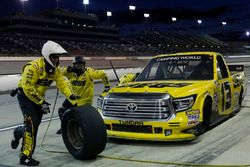 Cody Coughlin, ThorSport Racing Toyota pit stop