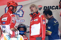 Andrea Dovizioso, Ducati Team, Gigi Dall'Igna, Manager Général Ducati Team