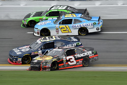 Ty Dillon, Richard Childress Racing Chevrolet, Brennan Poole, Chip Ganassi Racing Chevrolet, Daniel