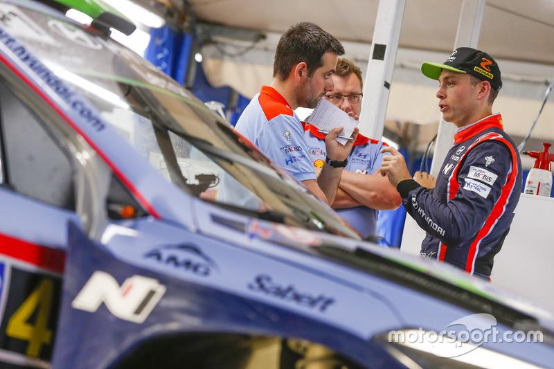 Хейден Паддон, Hyundai i20 Coupe WRC, Hyundai Motorsport
