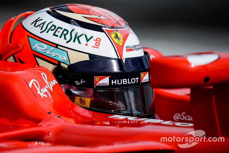 Кimi Raikkonen, Ferrari