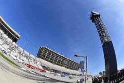 Denny Hamlin, Joe Gibbs Racing Toyota y Matt Tifft, Joe Gibbs Racing Toyota