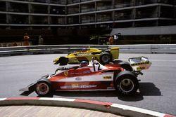 Gilles Villeneuve, Ferrari 312T3 ve Emerson Fittipaldi, Copersucar F5A-Ford