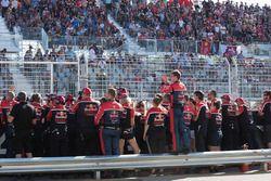 Triple Eight Race Engineering Holden team members