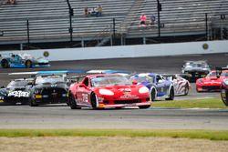 #76 TA3 Chevrolet Corvette, Preston Calvert, Phoenix Performance, #07 TA4 Ford Mustang, Brian Kleema