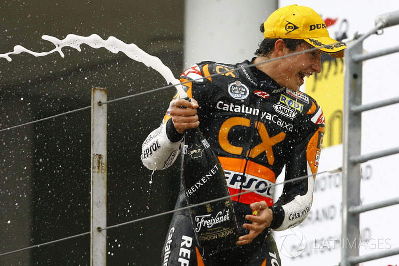 Race winner Marc Marquez