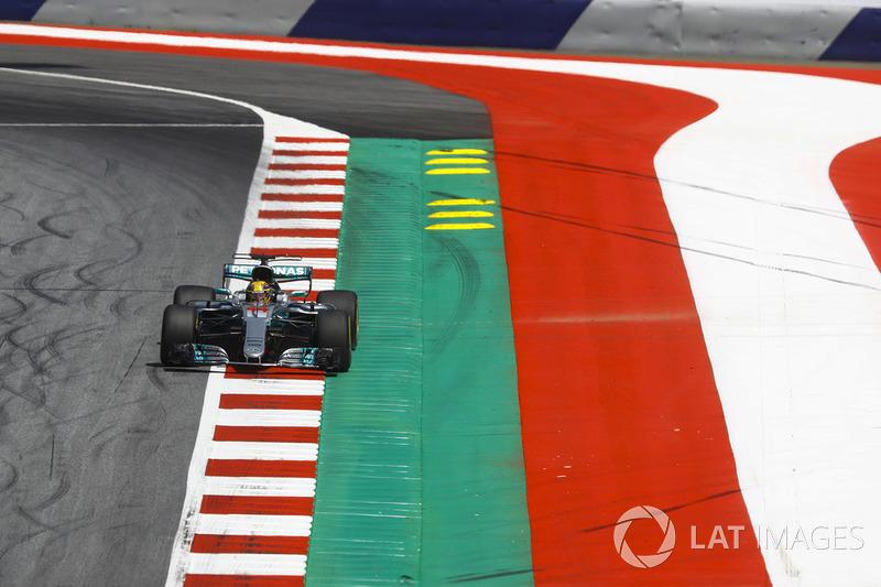 8. Lewis Hamilton, Mercedes AMG F1 W08