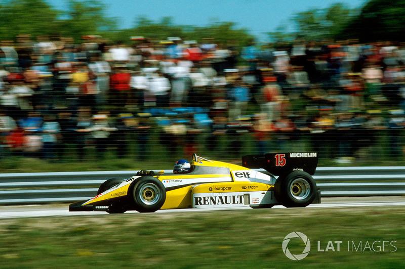 Renault 1984: Patrick Tambay, Renault RE50