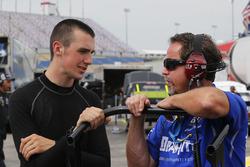 Austin Cindric, Brad Keselowski Racing Ford and Doug Randolph