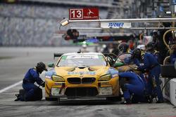 La #96 Turner Motorsport BMW M6 GT3: Jens Klingmann, Justin Marks, Maxime Martin, Jesse Krohn aux stands