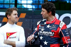 Sebastian Vettel y Travis Pastrana
