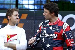 Sebastian Vettel et Travis Pastrana