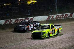 Matt Crafton, ThorSport Racing Toyota and Christopher Bell, Kyle Busch Motorsports Toyota