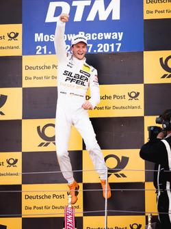 Podio: il vincitore della gara Maro Engel, Mercedes-AMG Team HWA, Mercedes-AMG C63 DTM