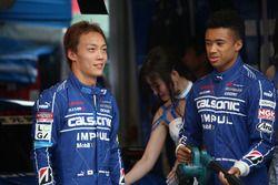 安田裕信とヤン・マーデンボロー(#12 カルソニック IMPUL GT-R)