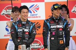 山本尚貴と伊沢拓也(#100 RAYBRIG NSX-GT)