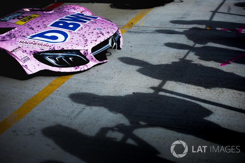 Capó de coche de Lucas Auer, Mercedes-AMG Team HWA, Mercedes-AMG C63 DTM
