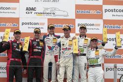Podium: racewinnaars #77 Callaway Competition, Corvette C7 GT3-R: Jules Gounon, Renger van der Zande