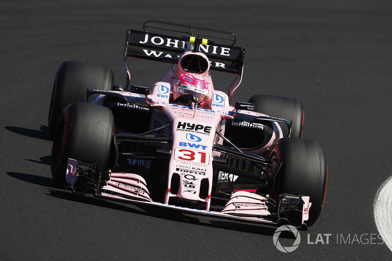 Естебан Окон, Sahara Force India F1 VJM10