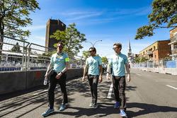 Гонщики NEXTEV TCR Formula E Team Нельсон Пике-мл. и Оливер Тёрви
