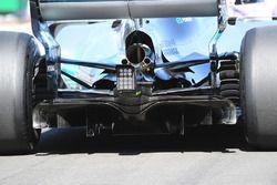 Lewis Hamilton, Mercedes-Benz F1 W08, il diffusore