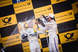 Podium: Maro Engel, Mercedes-AMG Team HWA, Mercedes-AMG C63 DTM and Bruno Spengler, BMW Team RBM, BMW M4 DTM