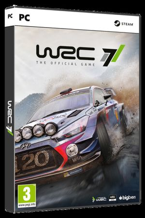 Cover WRC 7 para PC