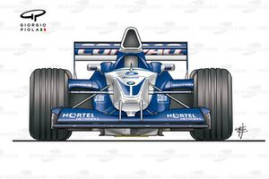 Williams FW23 2001 front view