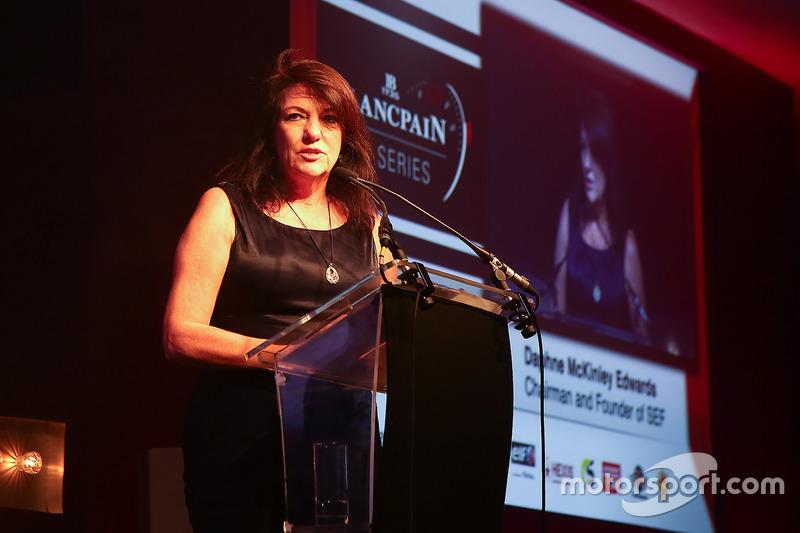 Daphne McKinley Edwards, Presidente y fundador de la Fundación Sean Edwards