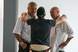 Mariano Werner, Werner Competicion Ford and Race Stewards Sergio Garone and Carlos Garrido