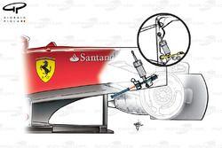 Ferrari F2012 pull rod front suspension layout