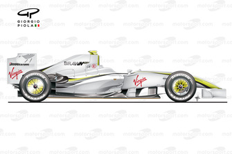 BrawnGP BGP001 side view