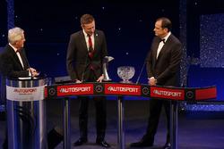 Steve Rider interviews Gordon Shedden, Winner of the National Driver of the year Award