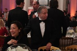 FIA president Jean Todt with his wife Michelle Yeoh