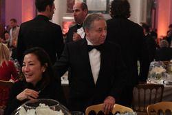 FIA-president Jean Todt en zijn vrouw Michelle Yeoh