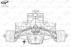 Châssis de la Ferrari 150° Italia