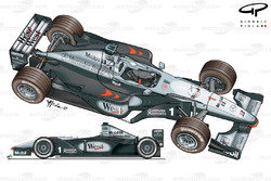 McLaren MP4-14 1999 multiple views