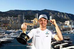 Racewinnaar Nico Rosberg, Mercedes AMG F1