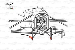Фронтальная перегородка и поворотные лопасти Jordan 197 1997 года